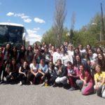Los alumnos de 2° año del Prof. de Educ. Primaria viajaron a la localidad de El Trapiche