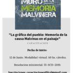 """Capacitación: """"La Gráfica del pueblo: Memoria de la causa Malvinas en el paisaje"""""""