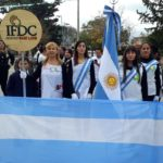 Alumnos de San Francisco participaron del acto en conmemoración del General Manuel Belgrano y en honor a nuestra bandera nacional