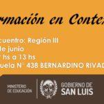 Formación en Contexto: Primer encuentro – Región III
