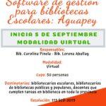 Software de gestión para bibliotecas Escolares: Aguapey