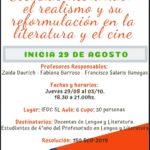 Escuelas literarias: El realismo y su reformulación en la literatura y el cine