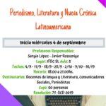 Periodismo, Literatura y Nueva Crónica Latinoamericana