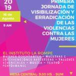 Primera Jornada de Visibilización y Erradicación de las Violencias Contra las Mujeres