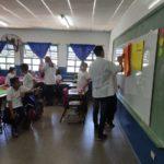 Estudiantes de 2do año del Prof. de Educ. Primaria dieron su primer clase en la EPA 1 Rosenda Quiroga