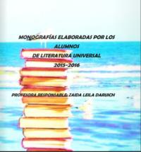Monografías literatura universal 2015 – 2016